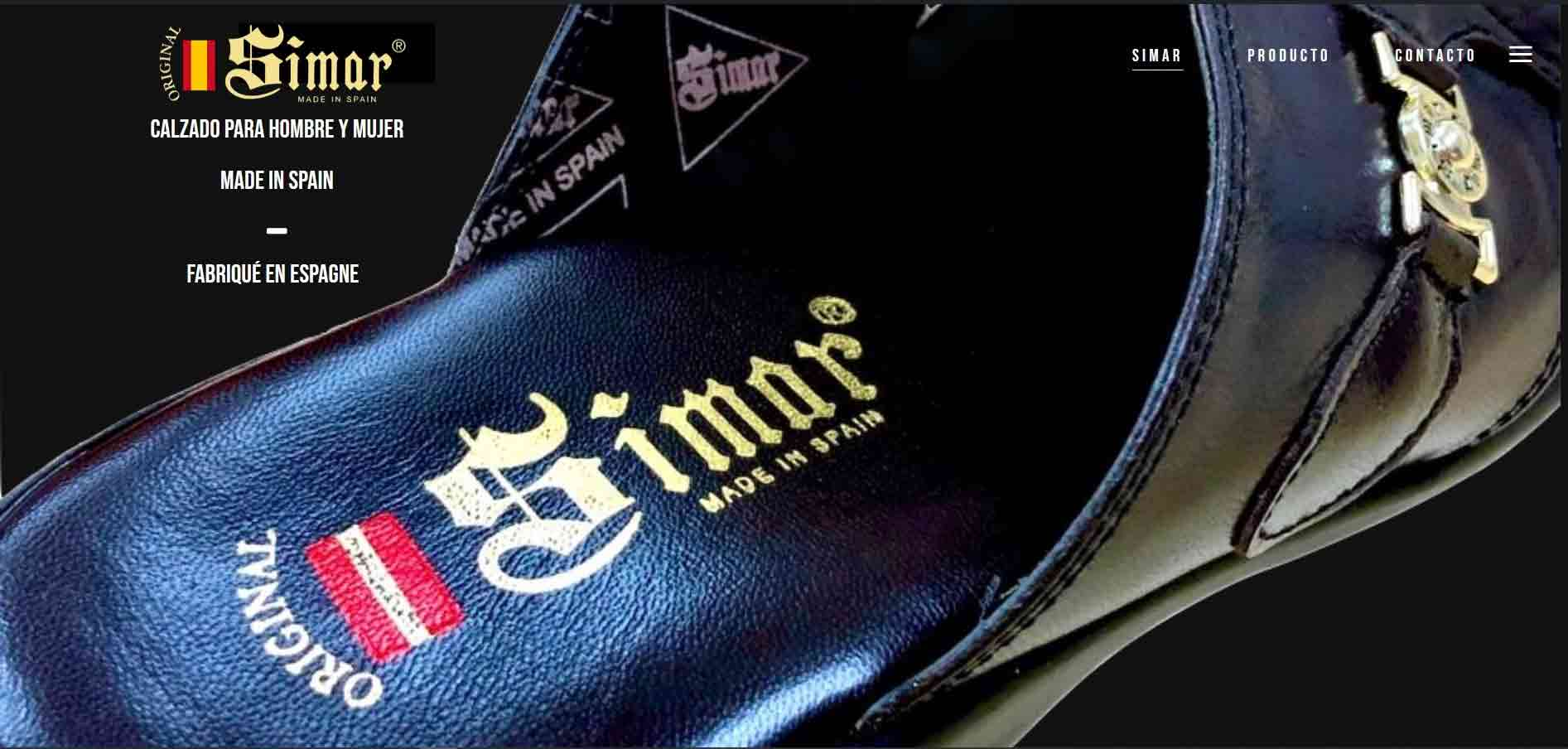 elchelaweb webs corporativa simar shoes
